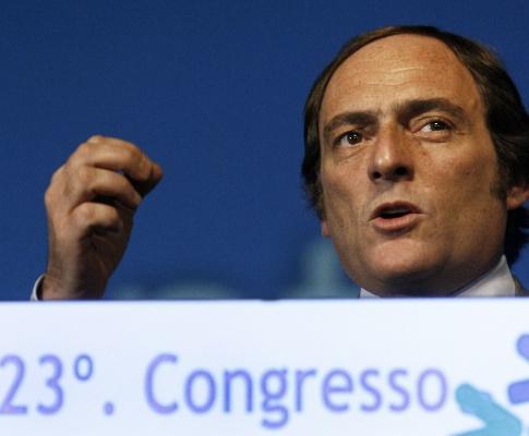 Paulo Portas no 23º Congresso do CDS-PP (JOSÉ SENA GOULÃO/LUSA)