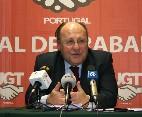 O Secretário-geral da UGT, João Proença
