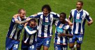 Festejos dos jogadores do F.C. Porto