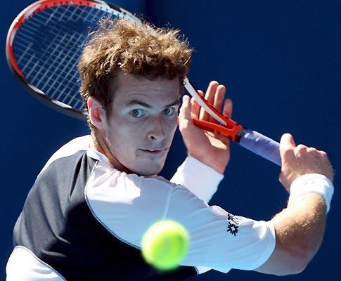 Andy Murray no Open da Austrália