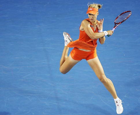 Elena Dementieva no Open da Austrália