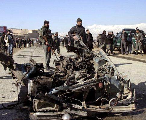 Atentado suicida no Afeganistão