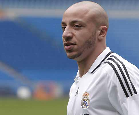 Faubert apresentado no Real Madrid