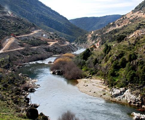 Rio Sabor, no concelho de Torre de Moncorvo