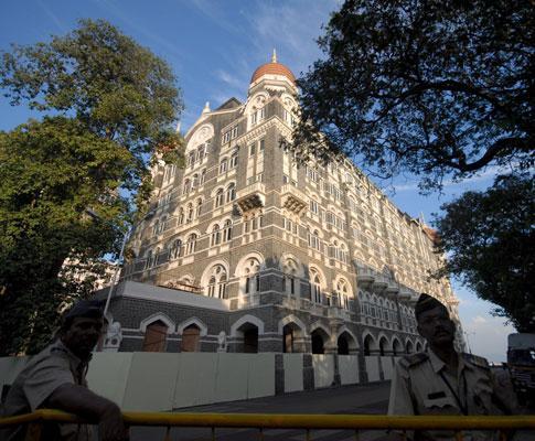 O hotel Taj Mahal, em Mumbai