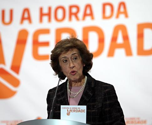 Manuela Ferreira Leite (arquivo)