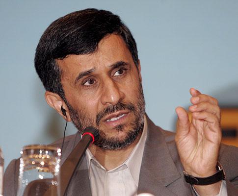 Mahmoud Ahmadinejad, presidente do Irão