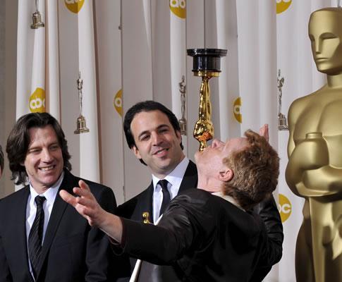 Philippe Petit na 81ª gala dos Óscares (EPA)