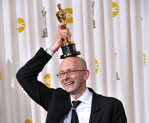 Chris Dickens na 81ª gala dos Óscares (EPA)