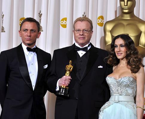 Greg Cannon na 81ª gala dos Óscares (EPA)