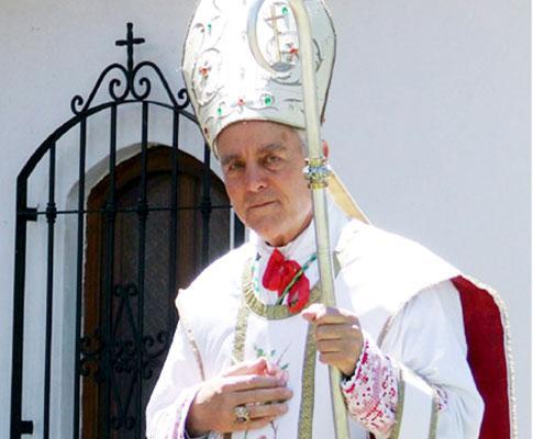O bispo Richard Williamson (arquivo)