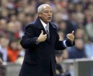 Jesualdo Ferreira, durante o At. Madrid-F.C. Porto