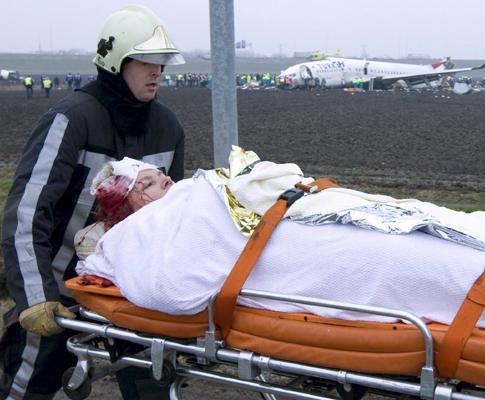 Sobreviventes do acidente de avião em Amesterdão