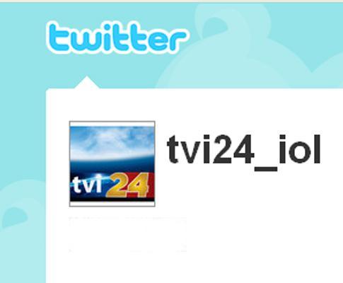 TVI24 no Twitter