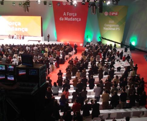 Congresso do PS em Espinho