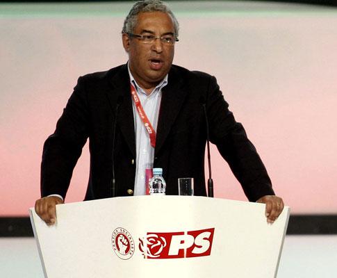 António Costa no Congresso do PS (ESTELA SILVA/LUSA)