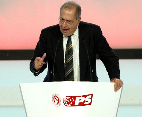 Jaime Gama no Congresso do PS