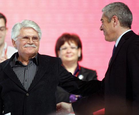 Vital Moreira no Congresso do PS