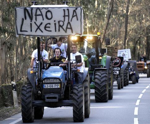 Manifestação da população de Palme, Barcelos