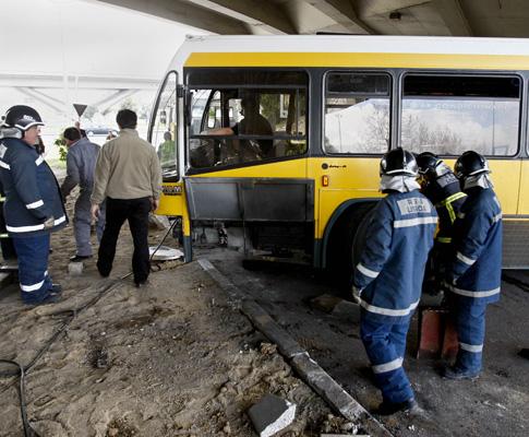 Acidente com autocarro da Carris (arquivo)