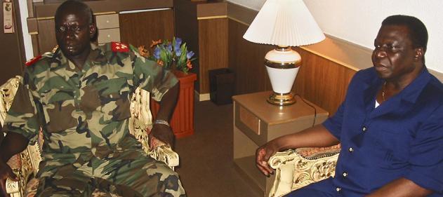 General Tagmé Na Waié  e Presidente Nino Vieira, assassinados