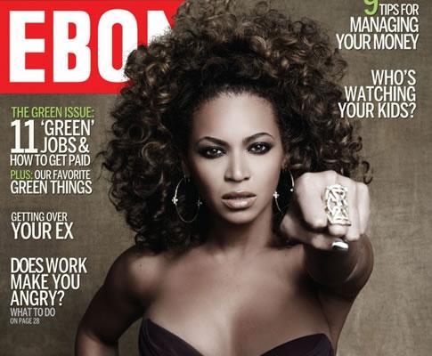 Beyoncé na capa da revista «Ebony»