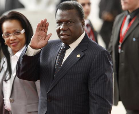 Nino Vieira , na Cimeira Europa-África , em Lisboa, a 8 de Dezembro de 2007
