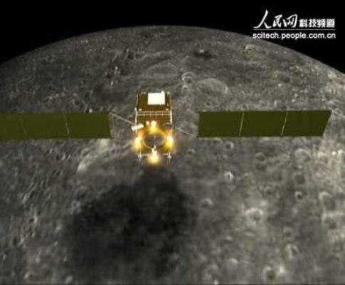 Satélite choca com a Lua