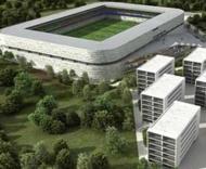 Projecto do futuro estádio da Naval