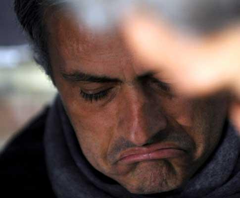 José Mourinho não esconde desalento depois de desaire com a Samp