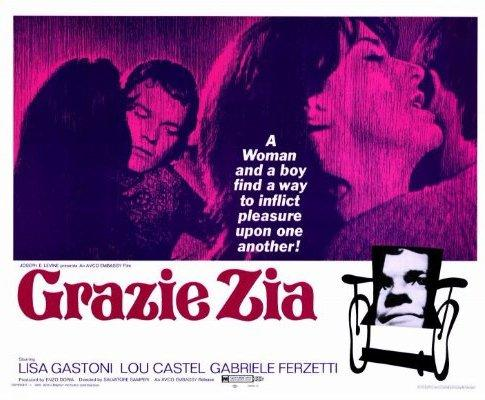 Cartaz do filme Grazie Zie, do realizador Salvatore Samperi