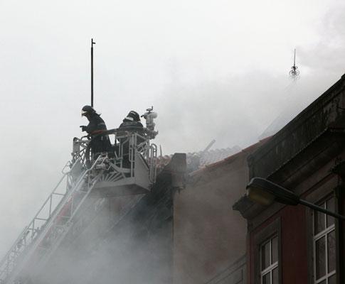 Incêndio na Rua do Boavista