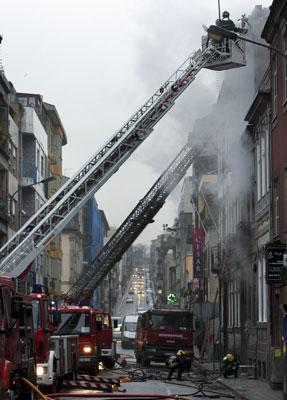 Incêndio no Porto