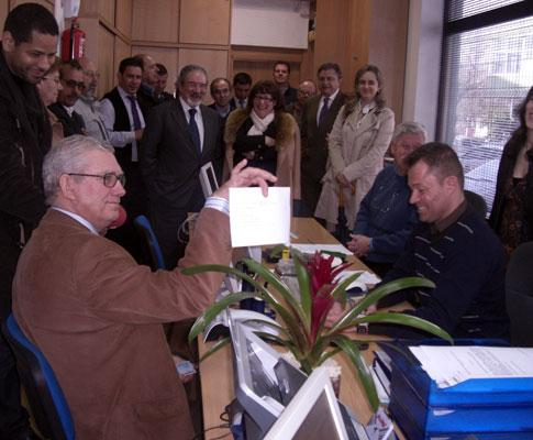 Inauguração de novo serviço para idosos em Queijas