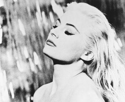 Anita Ekberg em La Dolce Vita, 1960