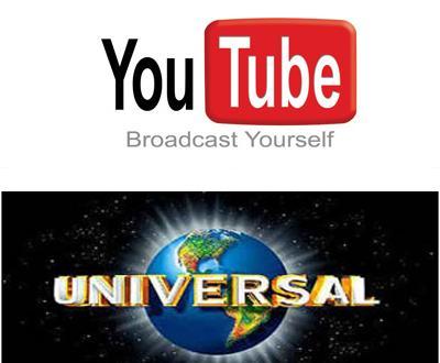 Universal e Youtube