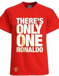 «Só há um Ronaldo»: a camisola do ManUtd