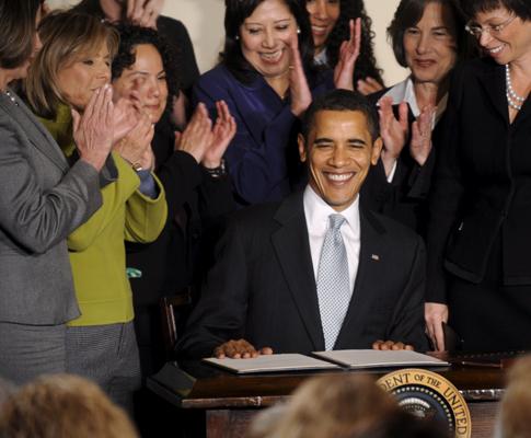 Obama aconselhado por painel feminino
