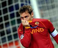 Totti desiludido depois do «adeus» à Champions