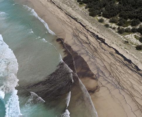 Derrame de óleo na Austrália