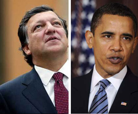Durão Barroso vs. Barack Obama