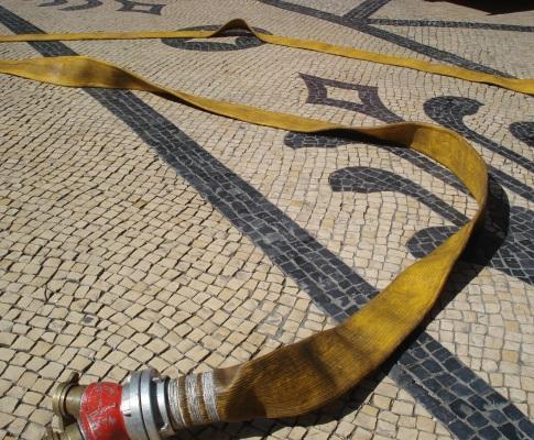 Simulacro de incêndio em Lisboa