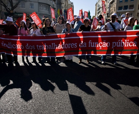Manifestação da CGTP em Lisboa
