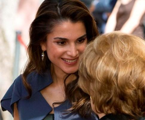 Rainha Raina da Jordânia em Portugal