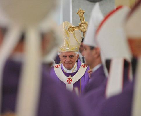 Papa Bento XVI em Angola