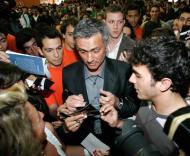 José Mourinho à chegada à Faculdade de Motricidade Humana