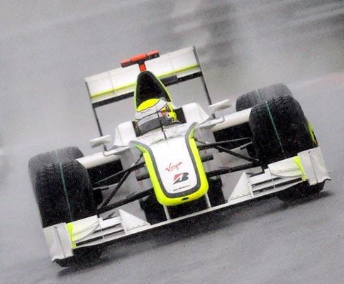 Jenson Button da Brawn GP