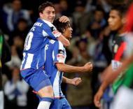 F.C. Porto-E. Amadora: Bruno Alves festeja