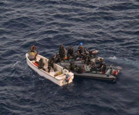 Piratas «apanhados» na Somália