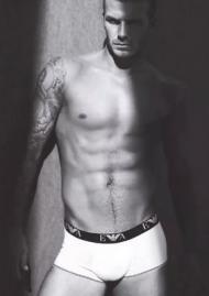 David Beckham em anúncio